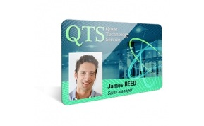 Staff ID Leicester Employee name badges professional card printing service local