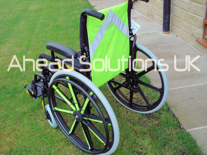 High Visibility Wheelchair cover