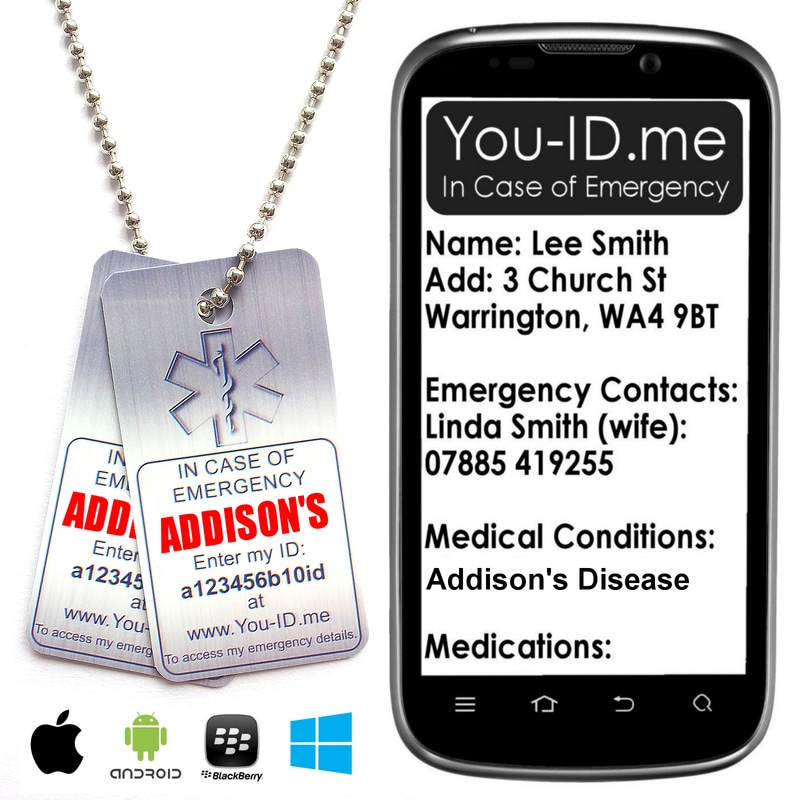 Medical Identity Necklace