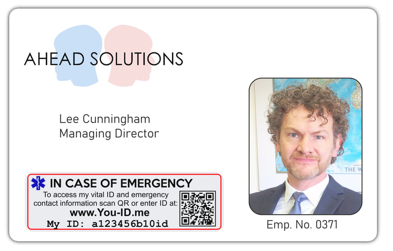 Custom print employee ID cards design and printed in belfast city centre