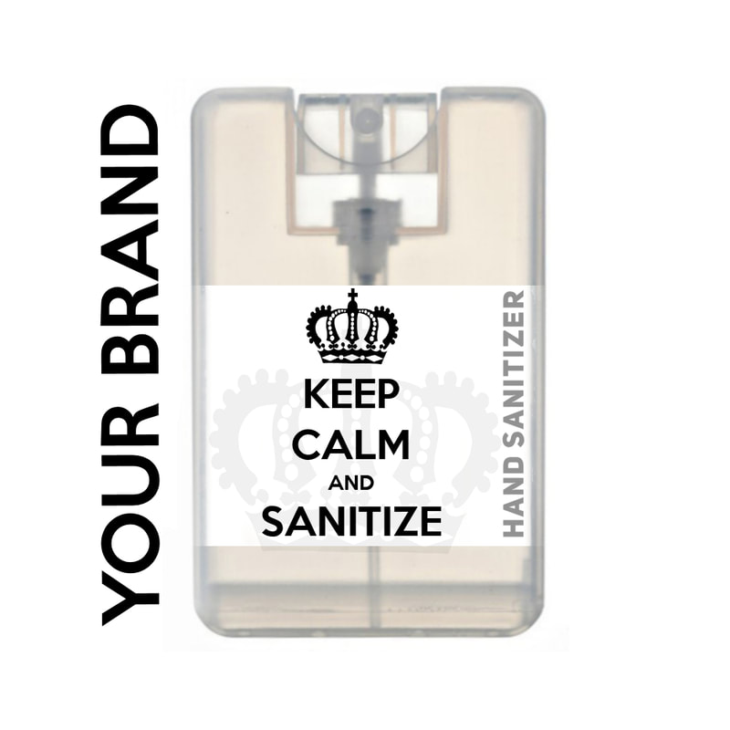 white label custom printed hand sanitizer for guests residents and members of beauty parlour hair salon hair boutique