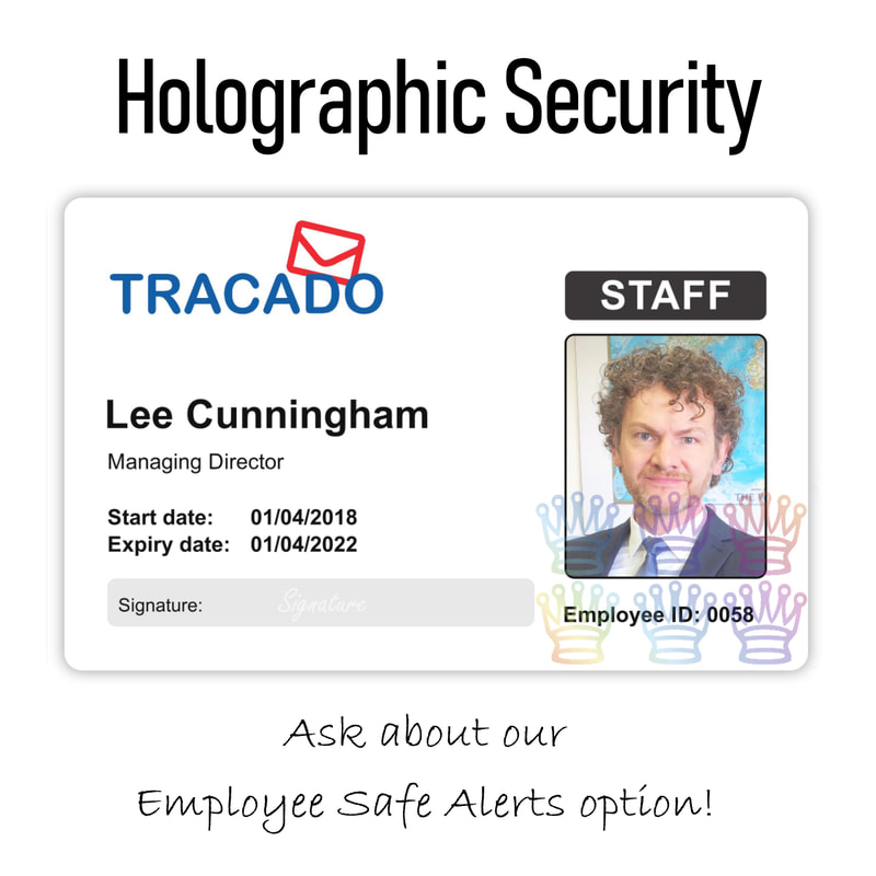 Merseyside hologram ID card printing specialists in badges cards passes for staff identity employees company personnel people workers